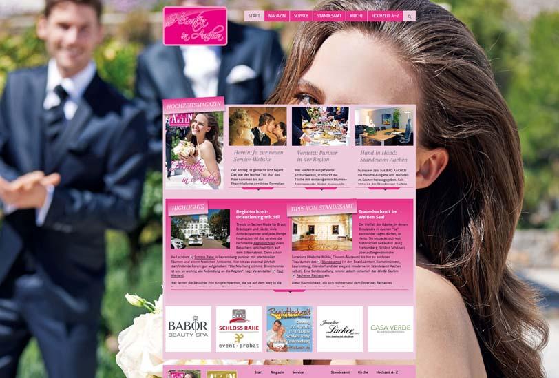 Wir heiraten homepage